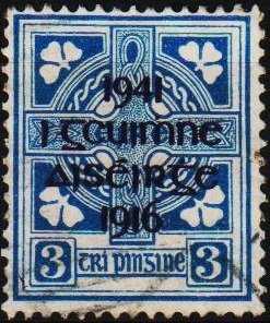 Ireland. 1941 3d S.G.127 Fine Used