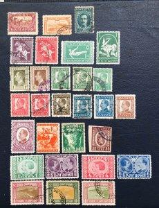 Bulgaria Stamps,1925-31,Sc#81-246,gymnast,Tsar And Fiancee,