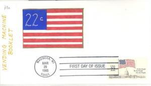 US 2116 FDC - Flag/Capitol - HP Charlton Cachet - 9 of 20