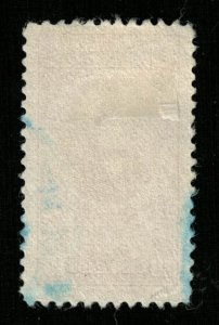 1943 Airmail - Portraits and Dates, Costa Rica 10c (TS-382)