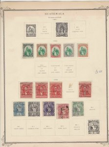 guatemala stamps page ref 17206