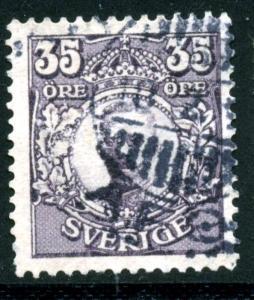 SWEDEN - SC #87 - used - 1911 - Item SWEDEN017
