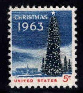 USA  Scott 1240 MNH** Christmas 1963 stamp