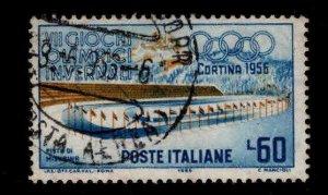 Italy Scott 708 used  Olympic stamp
