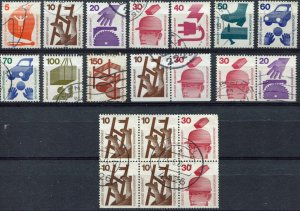 BRD   SC #   used Card of Stamps