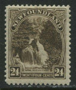 Newfoundland 1923  24 cents mint o.g. hinged