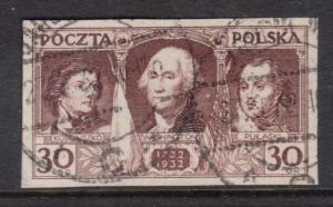 Poland #267 (Michel #271) VF Used Scarce Variety