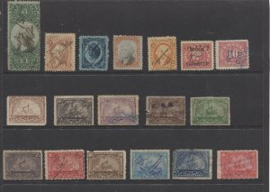 STAMP STATION PERTH - US #18 Back of Book Selection 18 Used - Unchecked-