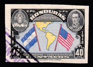 Honduras Scott C100d Used.