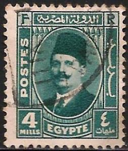 Egypt 1934 Scott# 134 Used