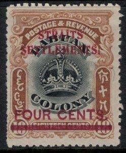 Straits Settlements #139*  CV $3.00