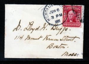 Hawaii 1905 #319 on MINI BUISNESS CARD SIZE COVER