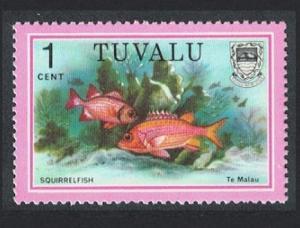 Tuvalu Squirrelfish 1c 1979 MNH SG#105