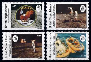 [66115] British Virgin Islands 1989 Space Travel Weltraum Apollo 11  MNH
