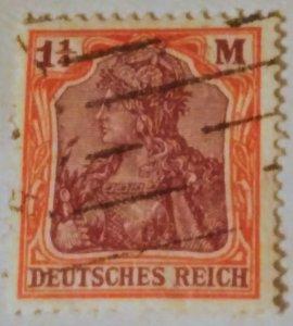 Germany 130 used vf
