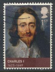 Great Britain SG 3088 SC# 2808 Charles I Kings & Queens Used  see scan