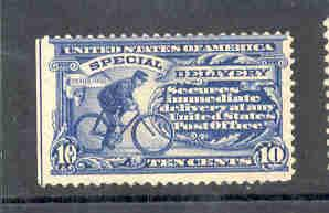 USA  ScE6 1902 10c Special Delivery stamp mint