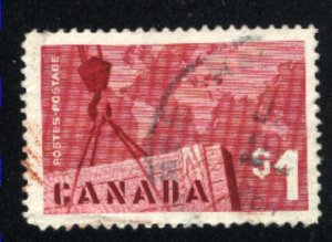 Canada #411  used   VF  PD