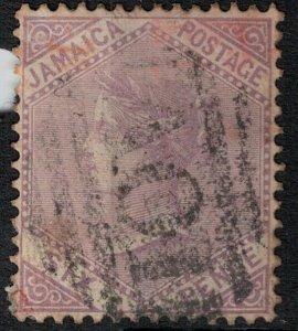 Jamaica 1909 SC 51 Used SCV $63.00
