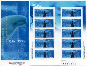 Canada - 2006 Vancouver Aquarium Complete Booklet #BK330