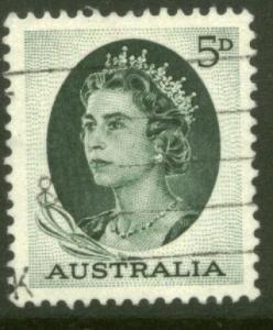 Australia 365, 5p Queen Elizabeth II. Used. (109)