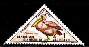 Mauritania - #J28 Pink Pelican Postage Due - MNH
