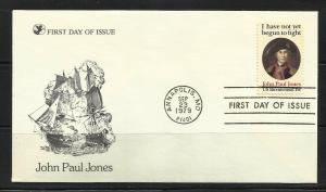US 1979 John Paul Jones Scott# 1789A