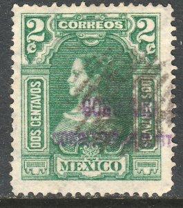MEXICO-Monterrey 424VAR TII, 2¢ GOB.. REV PROV OVPT CONSTIT.. USED VF (986)