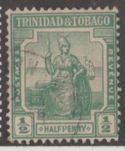 Trinidad & Tobago Scott #12 Stamp - Used Single