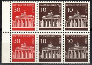 Germany #9N251c MNH Booklet Pane CV $3.00 (X2671)