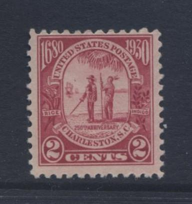 USA - Scott 683 -West 7 Chief Shadoo -1930 - MH - Carmine Rose - 2c Stamp