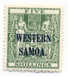 SAMOA #176, Mint Never Hinged, Scott $48.00