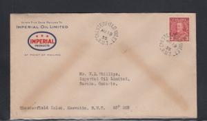 Canada Cover Chesterfield Inlet N.W.T. 1935 Imperial Oil Products
