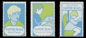 USA CINDERELLA STAMP. EASTER SEAL 1974. UNUSED. # 34