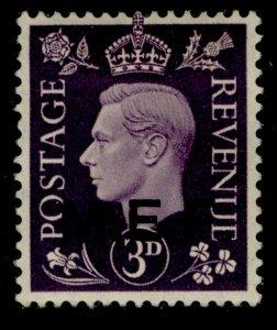 BRITISH OC OF ITALIAN COLONIES GVI SG M4, 3d violet, M MINT.