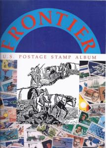 U.S.A. STAMP ALBUM 1995 FRONTIER OVER 3,000 ILLUSTRATIONS BRAND NEW +FREE GUIDE