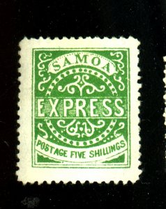 SAMOA #8a MINT F-VF OG HR THIN Cat $725