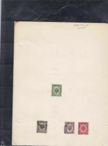 malaya stamps page ref 17307
