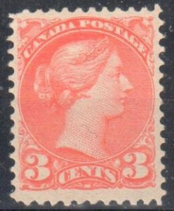 Canada #41 Mint VF OG NH Small Queen $270.00