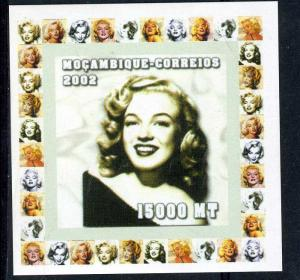 Mozambique 2002 MARILYN MONROE Deluxe s/s Mint (NH) #4