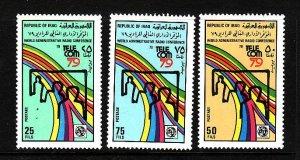 Iraq-Sc#945-7-Unused NH set-World Telecommunication Exhibition -1979-