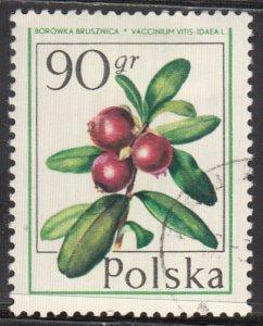 Poland, Sc 2200, CTO-H, 1977, Cranberry