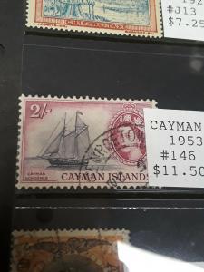 Cayman Island 2 Shilling 1953