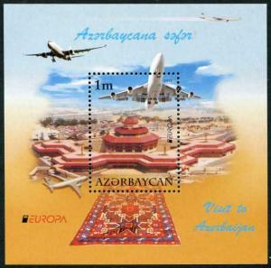 HERRICKSTAMP AZERBAIJAN Sc.# 983 Europa 2012 S/S