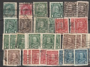 Canada Used QV,,George V Used lot #190823-3