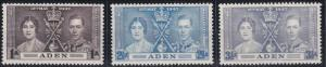 Aden 13-15 MNH (1947)