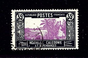 New Caledonia 145 Used 1928 issue