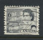 Canada SG 608 perf 12½ x 12 Used re-engraved die