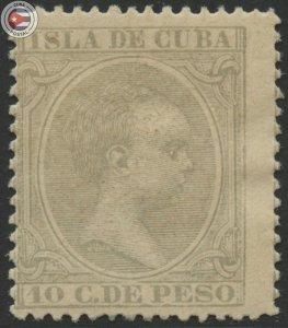 Cuba 1896 Scott 149 | MHR | CU18138