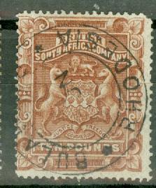 Rhodesia 19 used CV $800